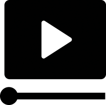video icon black